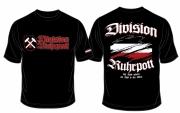 Ruhrpott Division - Auf Kohle geboren mit Stahl in den Adern - T-Shirt schwarz
