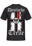Reichskriegsflagge Deutsche Treue - T-Shirt Rückenmotiv