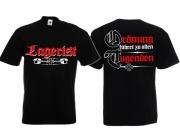 Lagerist - Ordnung für Deutschland - T-Shirt schwarz