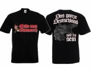 Deutsches Reich - T-Shirt schwarz