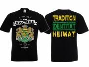 Stolzer Sachse - T-Shirt schwarz