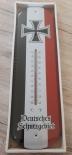 Deutsches Schutzgebiet - Blech-Thermometer