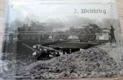 Deutsche Artillerie 2.Weltkrieg - Blechschild