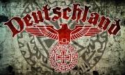 Deutschland Reichsadler Eisernes Kreuz - Fahne
