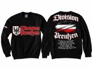 Preußen Division - Pullover schwarz