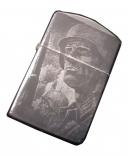 Wehrmacht Soldat - Sturmfeuerzeug schwarz