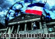 Reichstag Schwarz/Weiss/Rot - Aufkleber