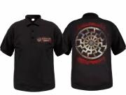 Schwarze Sonne - Polo-Shirt schwarz