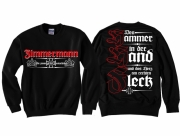 Zimmermann - Den Hammer in der Hand - Pullover schwarz