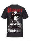 Tiger Panzer Division - T-Shirt Rückenmotiv