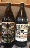 Deutsches helles Bier des Deutschen Reiches 1 leere Flasche - inkl. 0,08€ Pfand