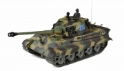 1:16 Panzerkampfwagen VI Königstiger Henschel-Turm Metallgetriebe+Metallketten+Metalllaufräder Professional Line IR/BB