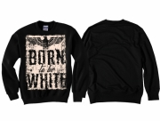 Born to be White - Pullover schwarz