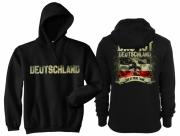 Deutschland - Das ist meine Fahne - Kapuzenpullover schwarz