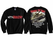 Tiger Panzer - Pullover schwarz