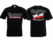 Hessen - Meine Heimat Reichsadler - T-Shirt schwarz
