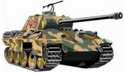 Panzer Panther - Aufkleber(wasserfest) 17 x 10 cm