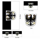 Ostpreußen - Aufkleber Set
