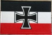 Reichskriegsflagge 1933-1935 Gösch II - Aufnäher