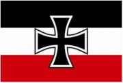 Reichskriegsflagge 1933-1935 Gösch - 10 Aufkleber(wasserfest)