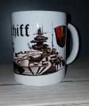 Schlachtschiff Tirpitz - 4 Tassen
