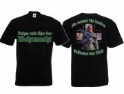 Ruhm und Ehre dem deutschen Soldat III - T-Shirt schwarz