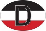 Deutschland SWR - Aufkleber(wasserfest)