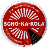 Wehrmacht Schokolade - SCHO-KA-KOLA Zartbitter - 100g Dose