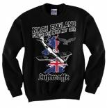 Nach England fliege ich nur mit der Luftwaffe - Pullover schwarz