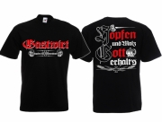 Gastwirt - Zapfen für Deutschland - T-Shirt schwarz