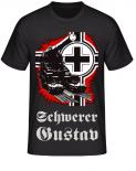 Schwerer Gustav DORA Balkenkreuz T-Shirt
