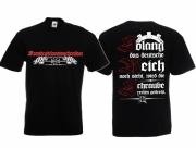 Konstruktionsmechaniker - Die Schraube wird rechts gedreht - T-Shirt schwarz