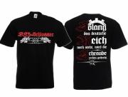 KFZ-Schlosser - Die Schraube wird rechts gedreht - T-Shirt schwarz