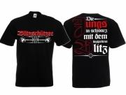 Blitzschützer - Die Jungs in schwarz - T-Shirt schwarz