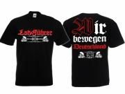 Lokführer für Deutschland - T-Shirt schwarz