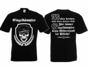 Einzelkämpfer für Deutschland - Widerstand ist Pflicht ! - T-Shirt schwarz