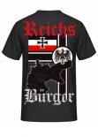 Reichsbürger - Rückendruck T-Shirt