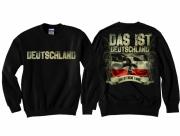 Deutschland - Das ist meine Fahne - Pullover schwarz