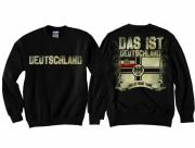 Reichskriegsflagge - Das ist meine Fahne - Pullover schwarz