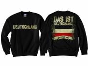 Deutschland - Das ist meine Fahne II - Pullover schwarz