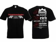 Industriemechaniker - Die Schraube wird rechts gedreht - T-Shirt schwarz