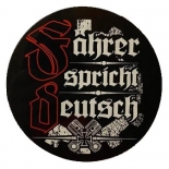 Fahrer spricht Deutsch - Aufkleber(wasserfest)
