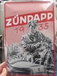 Zündapp 1935 - Blechschild