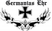 Germanias Ehr - Fahne 90x150 cm