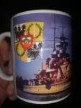 Schlachtschiff Gneisenau - 4 Tassen