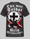 Opa war Soldat, kein Verbrecher Rücken T-Shirt