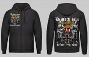 Deutsch sein heisst treu sein! Wehrmacht Soldat - Jacke