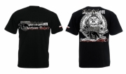 Sachsen-Anhalt Ghostdivision - T-Shirt schwarz