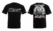 Sachsen Ghostdivision - T-Shirt schwarz