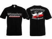 Württemberg - Meine Heimat - T-Shirt schwarz